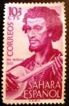Stamps Spain -  Sahara español. Pro infancia. Músicos