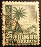 Stamps Spain -  Tánger. Oficina española. Indígenas y paisajes