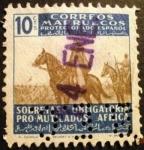 Stamps Spain -  Marruecos español. Beneficencia. Pro mutilados de guerra