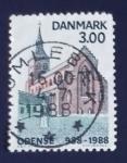 Stamps Denmark -  Arquitectura