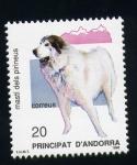 Stamps Europe - Andorra -  Mastín de los Pirineos