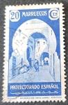 Stamps Spain -  Marruecos español. Tipos diversos. Tetuán