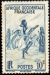 Stamps : Europe : France :  Africa Occidental (Mauritania)