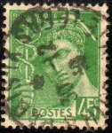 Stamps France -  Mercurio