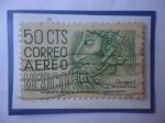 Stamps Mexico -  Chapas (Estado Mexicano) - Yacimientos Arqueológicos- Bonampak-