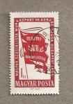 Sellos de Europa - Hungría -  /º congreso del Partido de los trabajadores