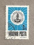 Sellos de Europa - Hungría -  Emblema de la sociedad científica