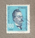 Stamps Asia - Turkey -  Ahmet Rasim