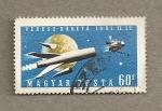 Sellos de Europa - Hungría -  cohete Venus-Z