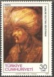 Stamps Turkey -  kanuni sultan suleyman