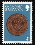 Sellos de Europa - Reino Unido -  Monedas, moneda de ocho dobles, 1959