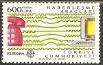 Stamps Asia - Turkey -  europa cept. transporte y comunicacion