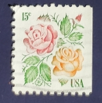 Stamps United States -  Rosas
