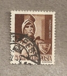 Stamps Hungary -  Janos Hunyadi