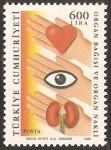 Stamps Turkey -  donacion y transplante de organos