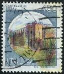 Sellos de Europa - Italia -  Castillo de Bosa