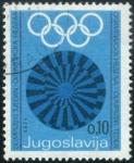 Sellos del Mundo : Europa : Yugoslavia :  Juegos Olimpicos