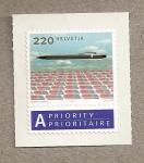 Stamps Switzerland -  Correo prioritario
