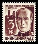 Sellos de Europa - Alemania -  Zona de ocupación francesa Renania Palatinado. 2 Wilhelm Emmanuel von Ketteler