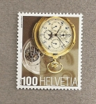 Stamps Switzerland -  Reloj del museo internacional de relojes