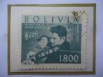 Stamps America - Bolivia -  Jaime Laredo-Violinista - Homenaje al Violinista de Cochabamba.