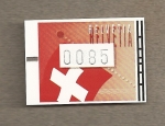 Stamps Switzerland -  Banderas suizas