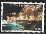 Stamps São Tomé and Príncipe -  Juegos Olímpicos de Verano 1992 - Barcelona (Medallas), Ceremonia inaugural, Barcelona