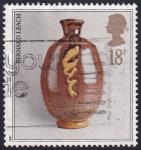 Stamps : Europe : United_Kingdom :  cerámica de Bernard leach