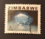 Stamps : Africa : Zimbabwe :  Topacio azul