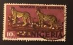 Stamps : Africa : Nigeria :  Fauna silvestre
