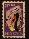 Stamps : Africa : Nigeria :  Pajaros