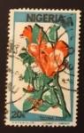 Stamps : Africa : Nigeria :  Flores