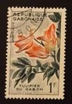 Stamps : Africa : Gabon :  Flores