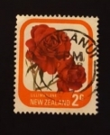 Stamps : Oceania : New_Zealand :  Flores