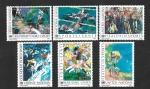 Stamps : America : ONU :  Deporte y Salud (New York-Ginebra-Viena)