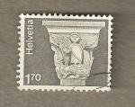 Sellos de Europa - Suiza -  Capitel