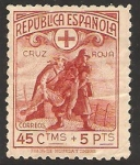 Stamps Europe - Spain -  cruz roja española