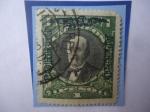Stamps America - Chile -  Aníbal Nicolás Pinto (1825-1884)-Abogado-Presidente (1876/81)-Guerra de Perú y Bolivia contra Chile.