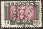Stamps : Europe : Spain :  XIX Centº de la Virgen del Pilar, Zaragoza