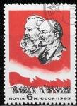 de Europa - Rusia -  Marx y Lenin