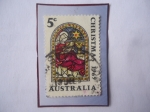 Stamps Oceania - Australia -  Christmas 1969 - Navidad 1969 -