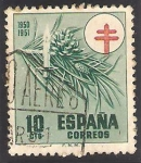 Stamps : Europe : Spain :  1085 - Pro Tuberculosos