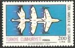 Stamps Asia - Turkey -  la industria aeropostal turca