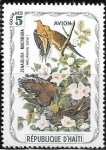 Sellos de America - Haití -  Aves (cenicientas)
