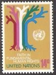 Stamps : America : ONU :  simbolos