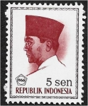 Stamps : Asia : Indonesia :  Presidente Sukarno