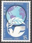 Stamps : America : ONU :  New York - Paz en el mundo