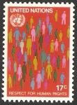 Stamps : America : ONU :  Respeto por los Derechos Humanos