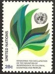 Stamps : America : ONU :  Símbolos