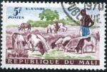 Stamps Africa - Mali -  Ganaderia